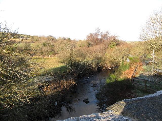 Rocky River below Rockyriver Bridge
