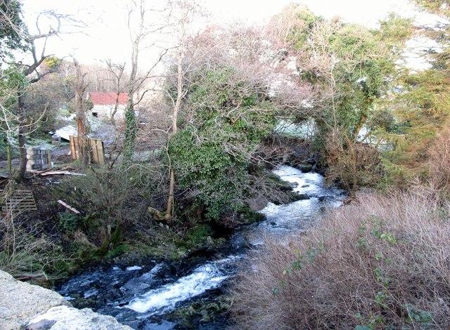 The old mill by the Leitrim River below Leitrim Bridge