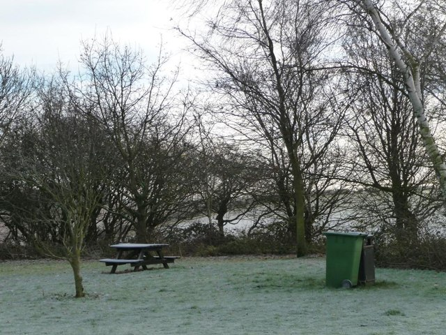 Walkington Wold picnic site in winter [2]