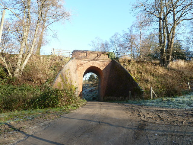 Bridge for the Bluebell Railway by Mill Place Farm