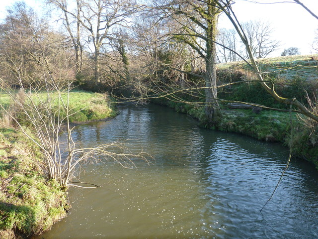 River Medway east of Mill Place Farm