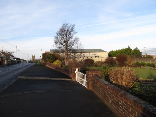 The INF Hall on Rostrevor Road, Hilltown