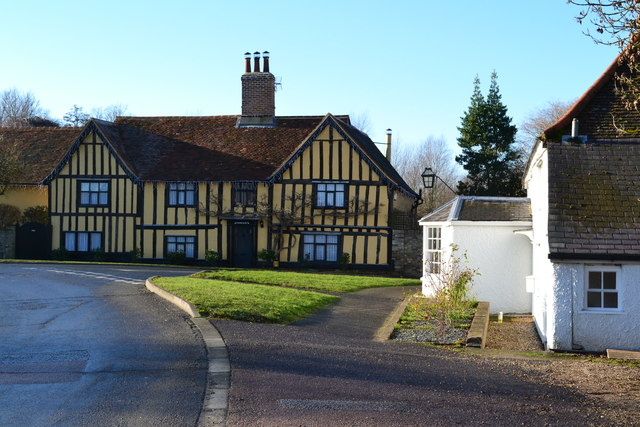 Timber-framed house at Stratford St. Mary