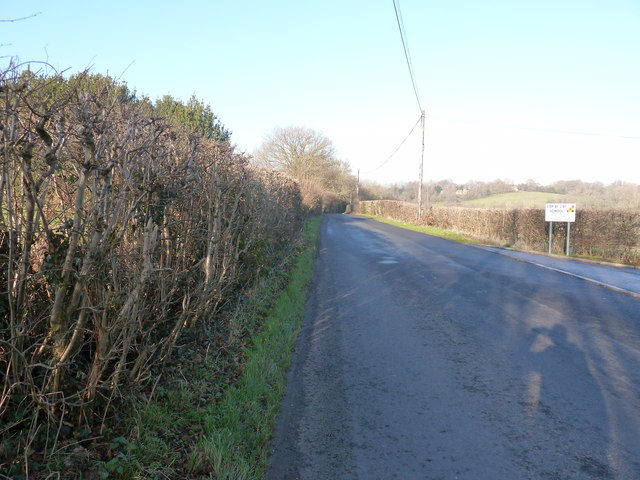 North on Grinstead Lane towards Weir Wood Reservoir