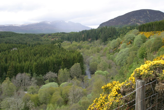 Glen Glass above Redburn
