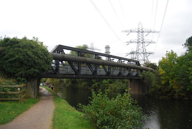 Railway bridge, Lea Navigation