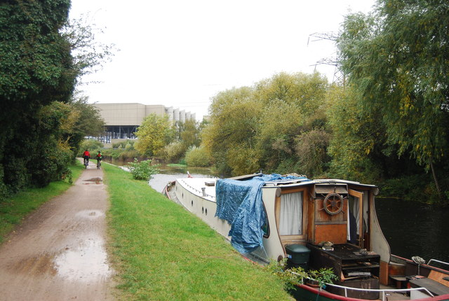 National Cycle Route 1 along the Lea Navigation