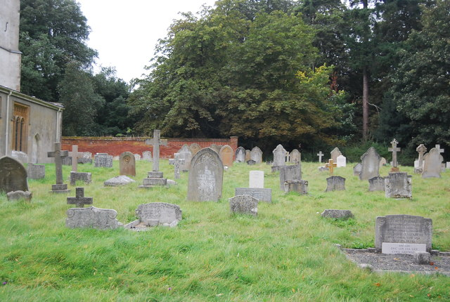 Graves, Church of St Martin of Tours, Nacton