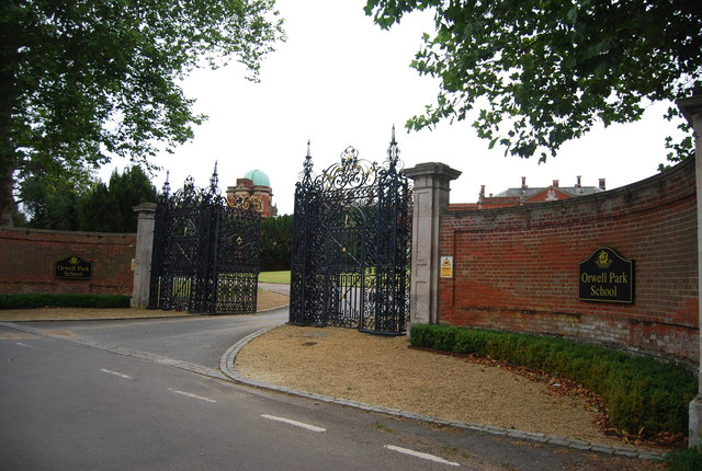 Gateway to Orwell Park School