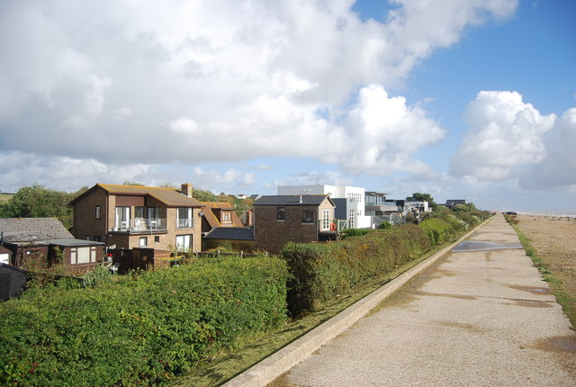 Houses, Cliff End