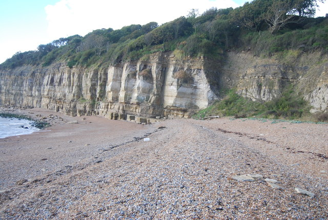 Cliffs at Cliff End