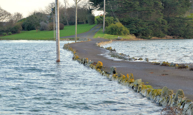 The causeway to Cross Island, Strangford Lough (2)