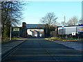 SD9003 : Railway bridge over Drury Lane, Failsworth by Alexander P Kapp