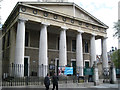 TQ3180 : Doric portico, St John's and St Andrew's, Waterloo SE1 by Robin Stott