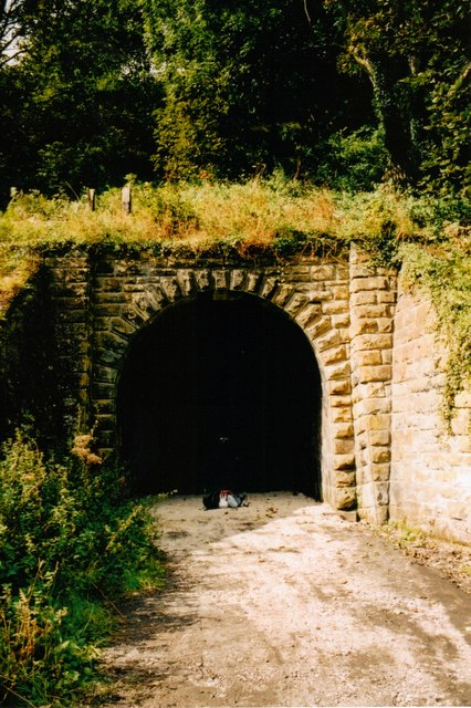 Sandsend tunnel south portal