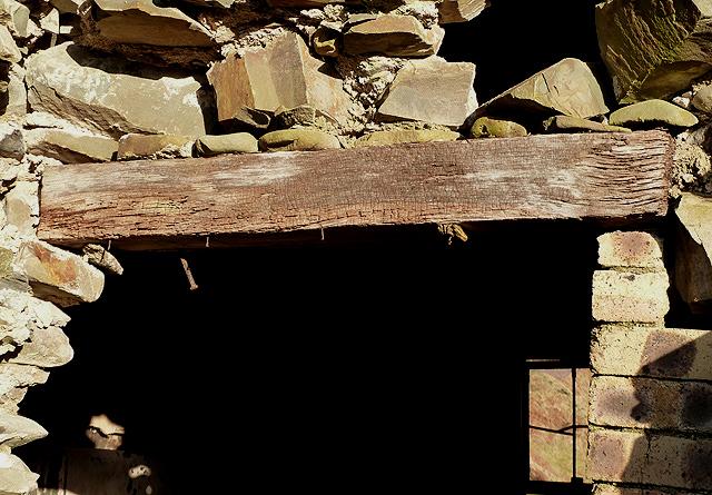 A Timber Safe Lintel At Twislehope Hope 169 Walter Baxter Cc