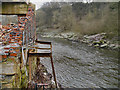 SD7506 : River Irwell, Creams Paper Mill by David Dixon