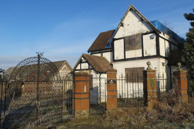 Gamnel Farm, Bulbourne Road, Tring, awaiting demolition