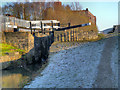SJ9498 : Huddersfield Narrow Canal, Tame Lock by David Dixon