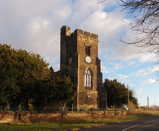 Church of St Andrew, Lamesley