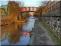 SJ9297 : Ashton Canal, Pottinger Street Footbridge by David Dixon