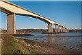 TM1741 : Orwell Bridge by Ian Capper