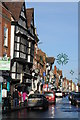 SO8932 : Buildings on Tewkesbury High Street by Philip Halling