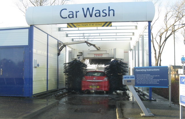 Tesco Car Wash New Malden