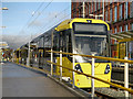 SD9408 : Metrolink Tram at Shaw by David Dixon