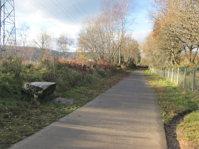 Taff Trail/Celtic Trail heading towards Rhydyfelin