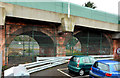 J3070 : Railway arches, Finaghy, Belfast (2) by Albert Bridge