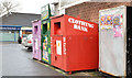J3070 : Recycling bins, Finaghy, Belfast by Albert Bridge