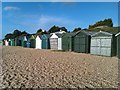 SU5501 : Beach huts at Lee-on-the-Solent : Week 51