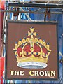 TQ3103 : Sign for The Crown, Grafton Street, BN2 by Mike Quinn