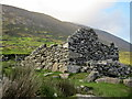 F6307 : Deserted village, Slievemore by Pamela Norrington
