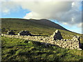 F6307 : 2-chambered dwelling at the Deserted Village, Slievemore by Pamela Norrington