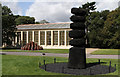 TQ1877 : David Nash at Kew by Martin Addison