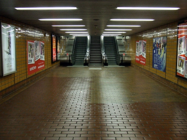 Subway In Glasgow City Centre
