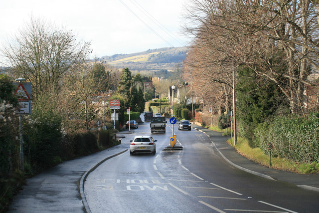 Looking along Station Road