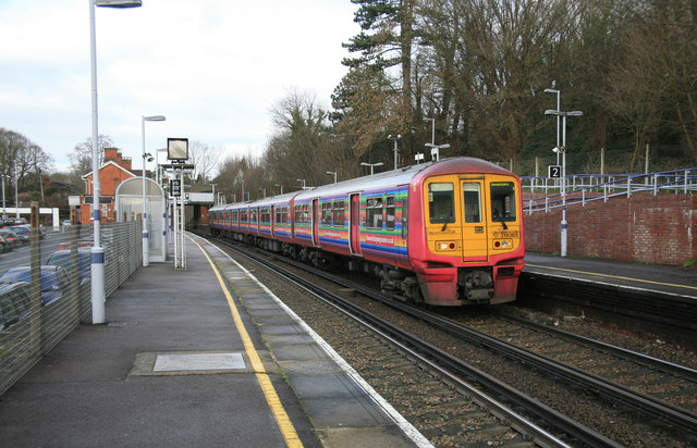 Thameslink train at Otford