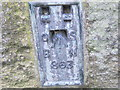 SE0134 : Ordnance Survey  Flush Bracket 863 by Peter Wood