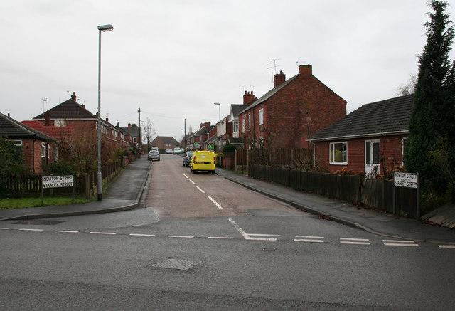 Newton Street, Retford