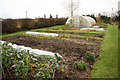 SK8770 : Charity allotments by Richard Croft