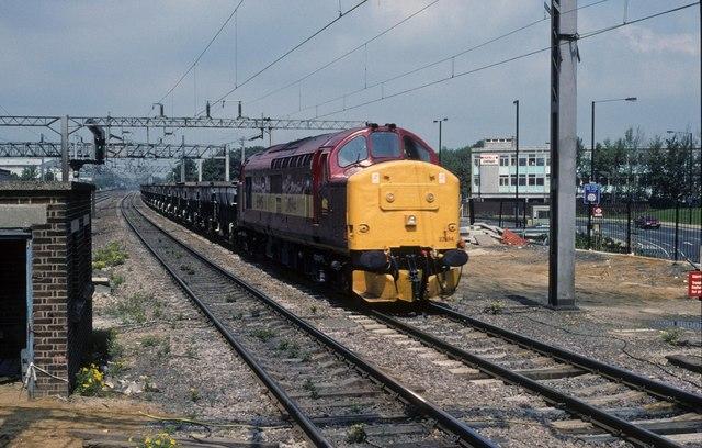 Passing Harrow and Wealdstone station