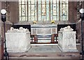 SK1242 : St Mary &amp; St Barlok, Norbury - Chancel by John Salmon