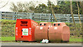 J2766 : Recycling bins, Lambeg by Albert Bridge
