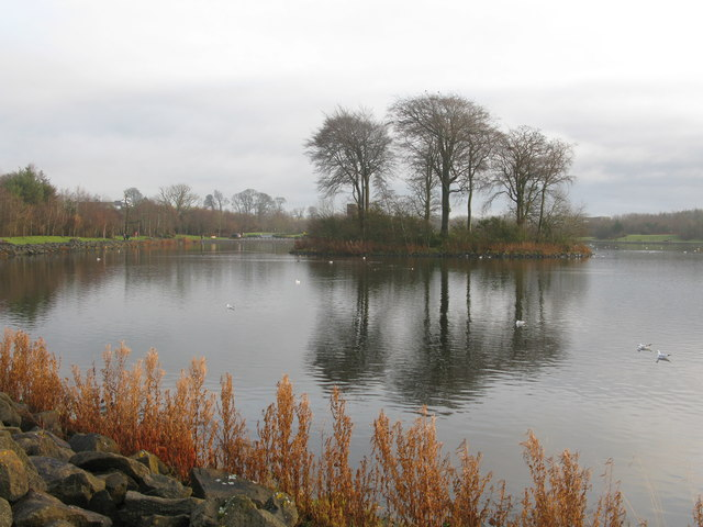 The Western End of the Loch in the James Hamilton Heritage Park