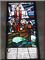 HU1760 : Rainbird window, Papa Stour Kirk by Mark Stockdale