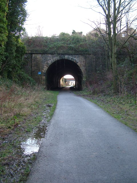 Short tunnel at Liversedge