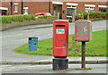 J3569 : Pillar box and drop box, Belfast by Albert Bridge